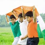 Indian Flag Whatsapp DP Images Pics With Cute Boy