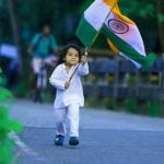 Indian Flag Whatsapp DP Images With Mera Desh