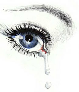Latest Crying Eyes Whatsapp Dp Pictures