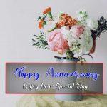 Latest Flower Happy Wedding Anniversary Images HD