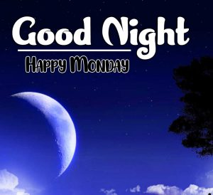 Latest Free New Beautiful good night monday images Pics Download Free