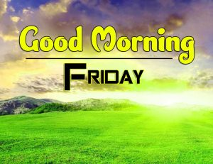 Latest Good Morning Friday Photo Hd
