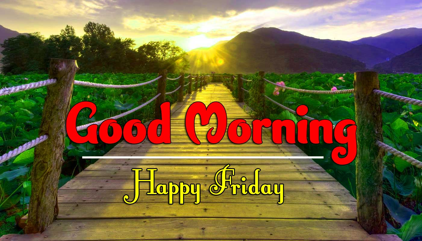 Good Morning Friday Images For Whatsapp / Facebook