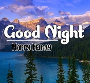 Latest Good Night Friday Wallpaper hd