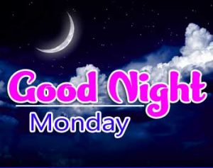 Latest New Beautiful good night monday images Pic Download
