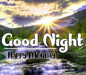 Latest New Beautiful good night monday images Pics Download