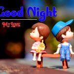 Good Night Images Pics With Cartoon