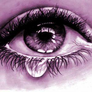 Nice Crying Eyes Whatsapp Dp