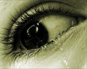 Nice Crying Eyes Whatsapp Dp Images Photo