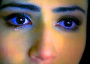 Nice Crying Eyes Whatsapp Dp Photo Images