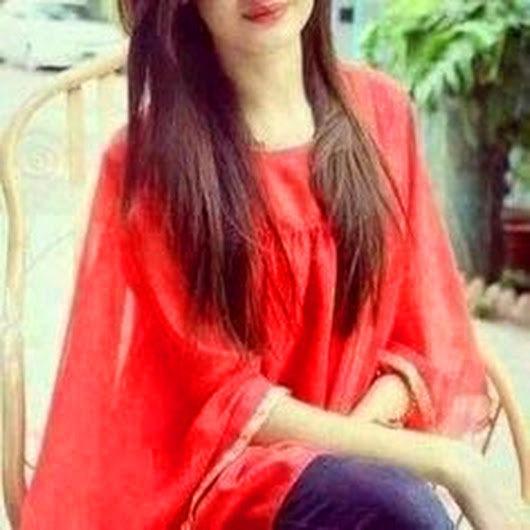 Red Color Hidden Face Whatsapp Dp Photo