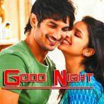 Romantic Good Night Wishes Wallpaper for Love Couple