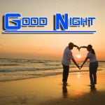 Romantic Good Night Wishes Wallpaper Free Download