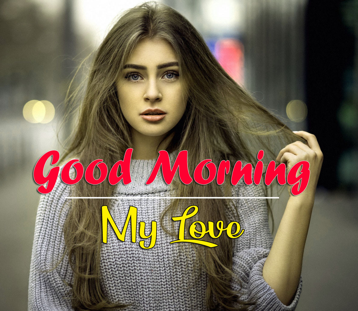Stylish Girls Good Morning Images Wallpaper
