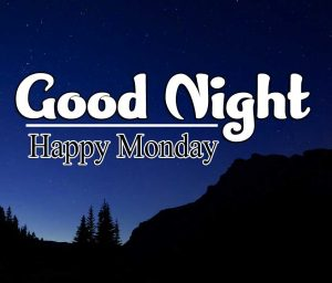 Sweet good night monday images Pics Download