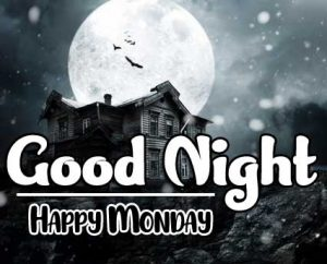 Sweet good night monday images Pics Download Free