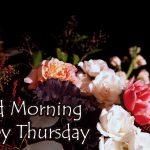 Thursday Good Morning Images wallpaper for hd