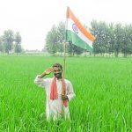 Tiranga Whatsapp Dp Image With Farmer