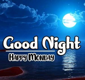 Top Free Beautiful good night monday images Pics Download