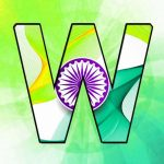 W Name Indian Flag Whatsapp DP Pics Images Download