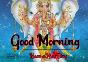 ganesha good morning images photo piics hd