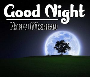 good night monday images Photo Download Free