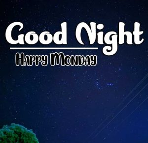 good night monday images Photo for Facebook