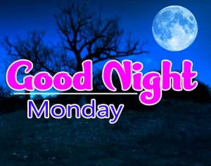 good night monday images Pics Free Download Free