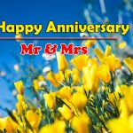 happy anniversary Images With Flower