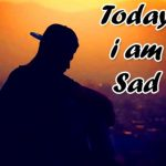 i am sad dp