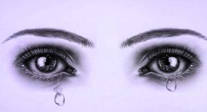 sad Best Crying Eyes Whatsapp Dp