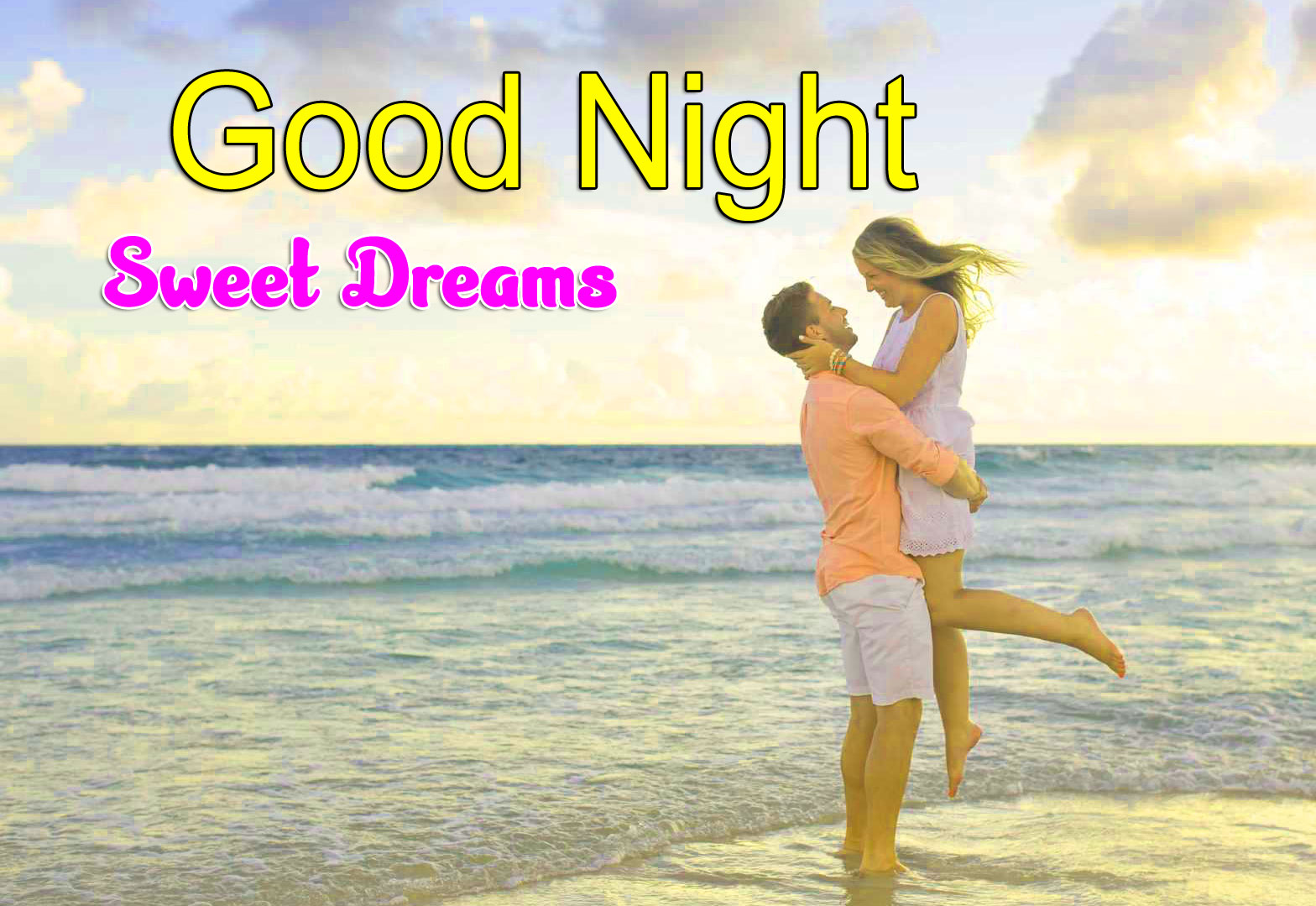 Best Girlfriend Good Night Wishes Wallpaper Download
