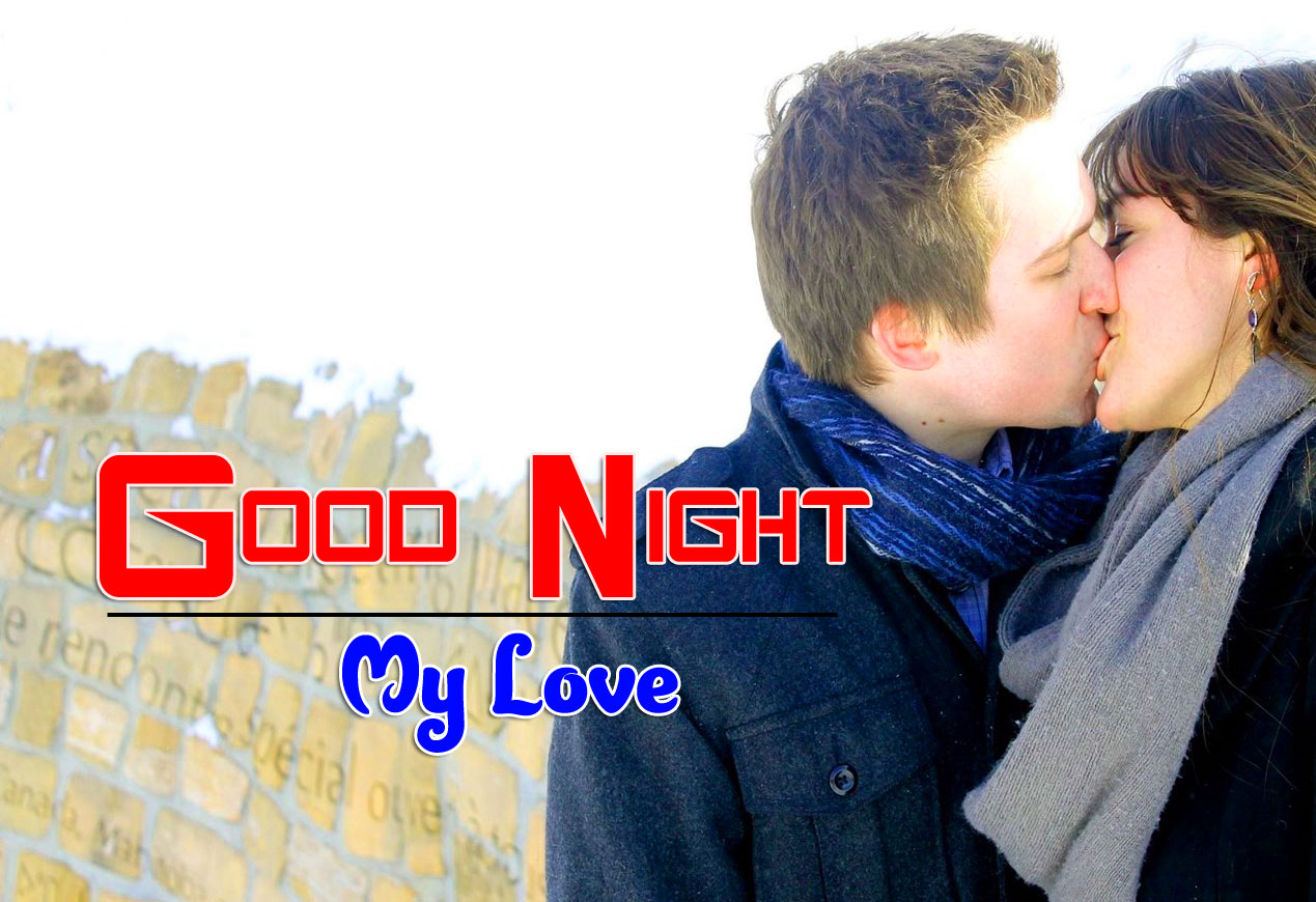 Best Quality Girlfriend Good Night Wishes Wallpaper Download