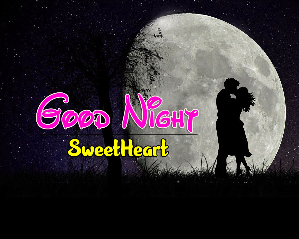 Best Quality Girlfriend Good Night Wishes Wallpaper