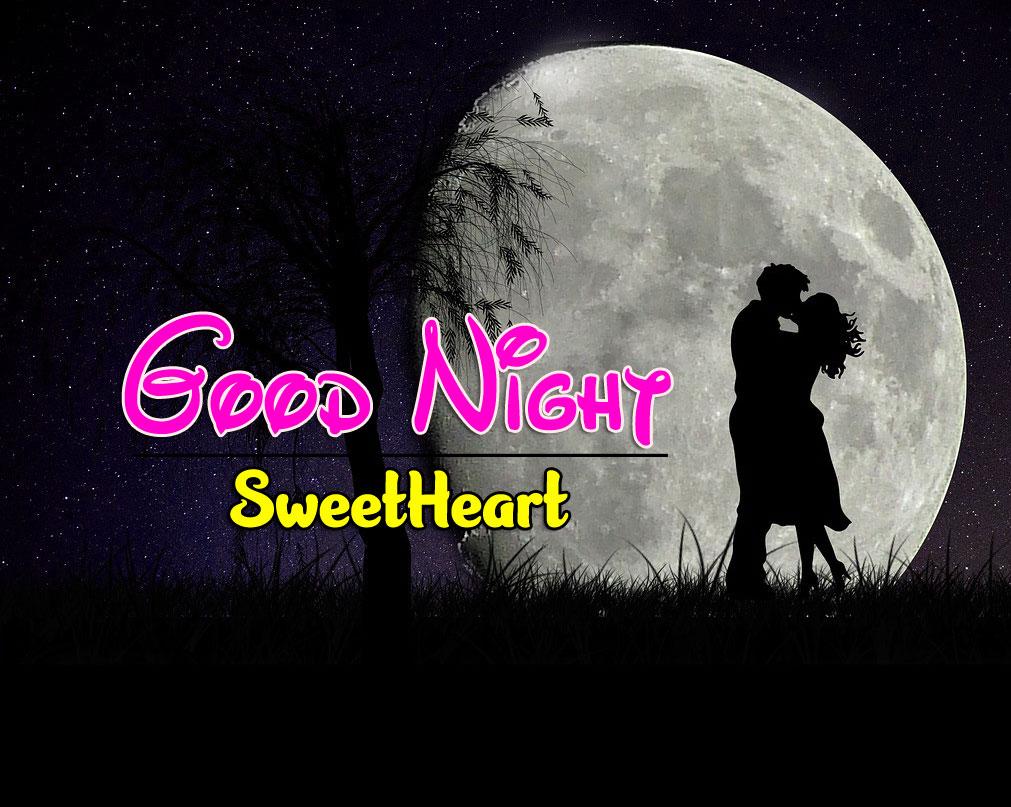 Best Quality Girlfriend Good Night Wishes Wallpaper