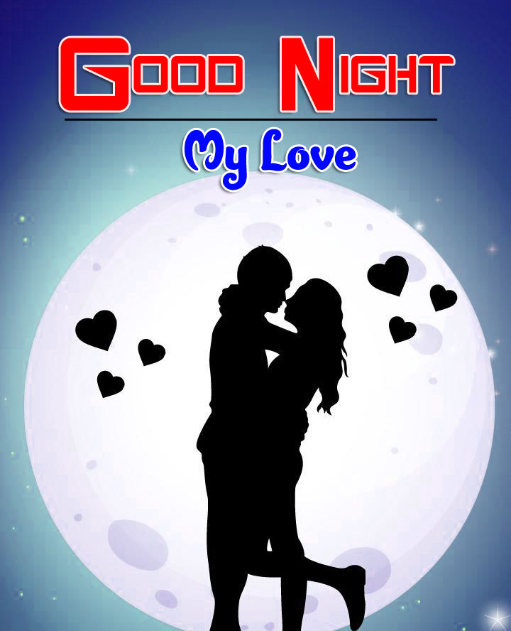 Free Girlfriend Good Night Wishes Photo Download