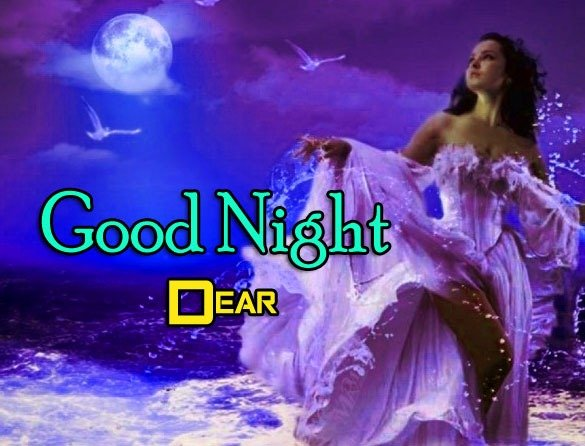 Girlfriend Good Night Wishes Photo Download