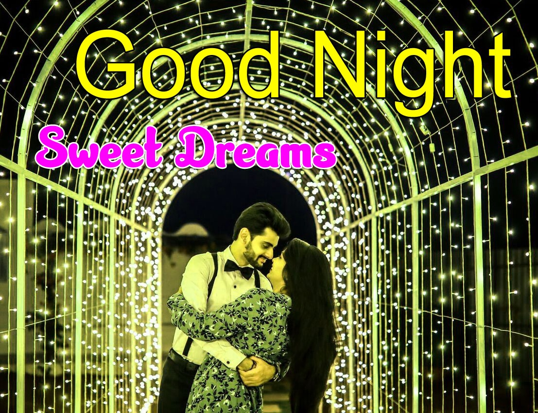 Girlfriend Good Night Wishes Photo for Facebook