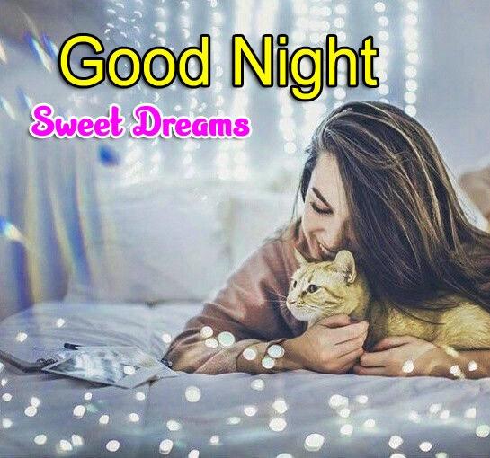 Girlfriend Good Night Wishes Photo for Girls