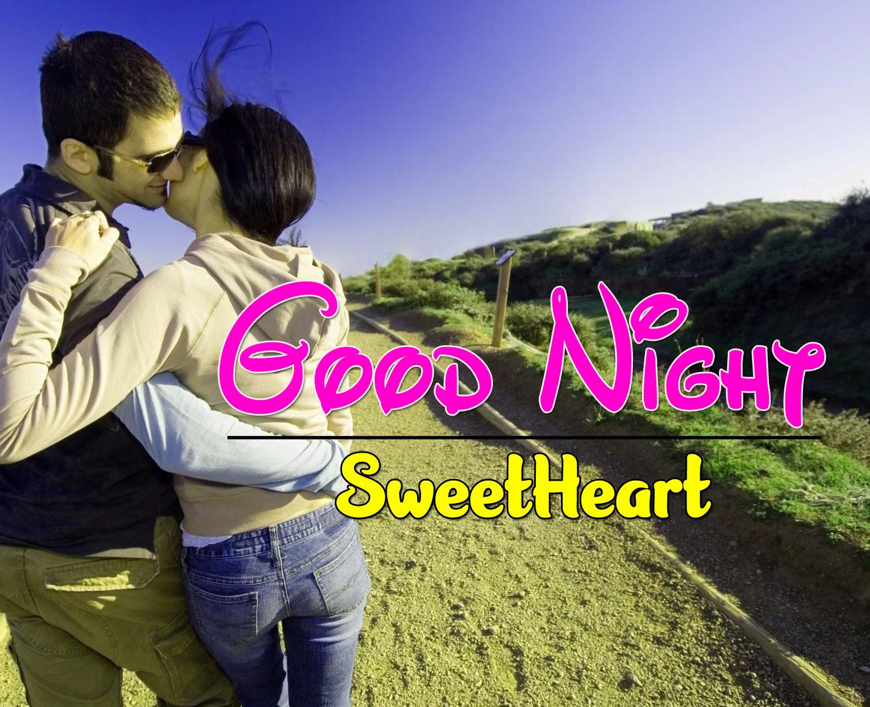 Girlfriend Good Night Wishes Wallpaper Free