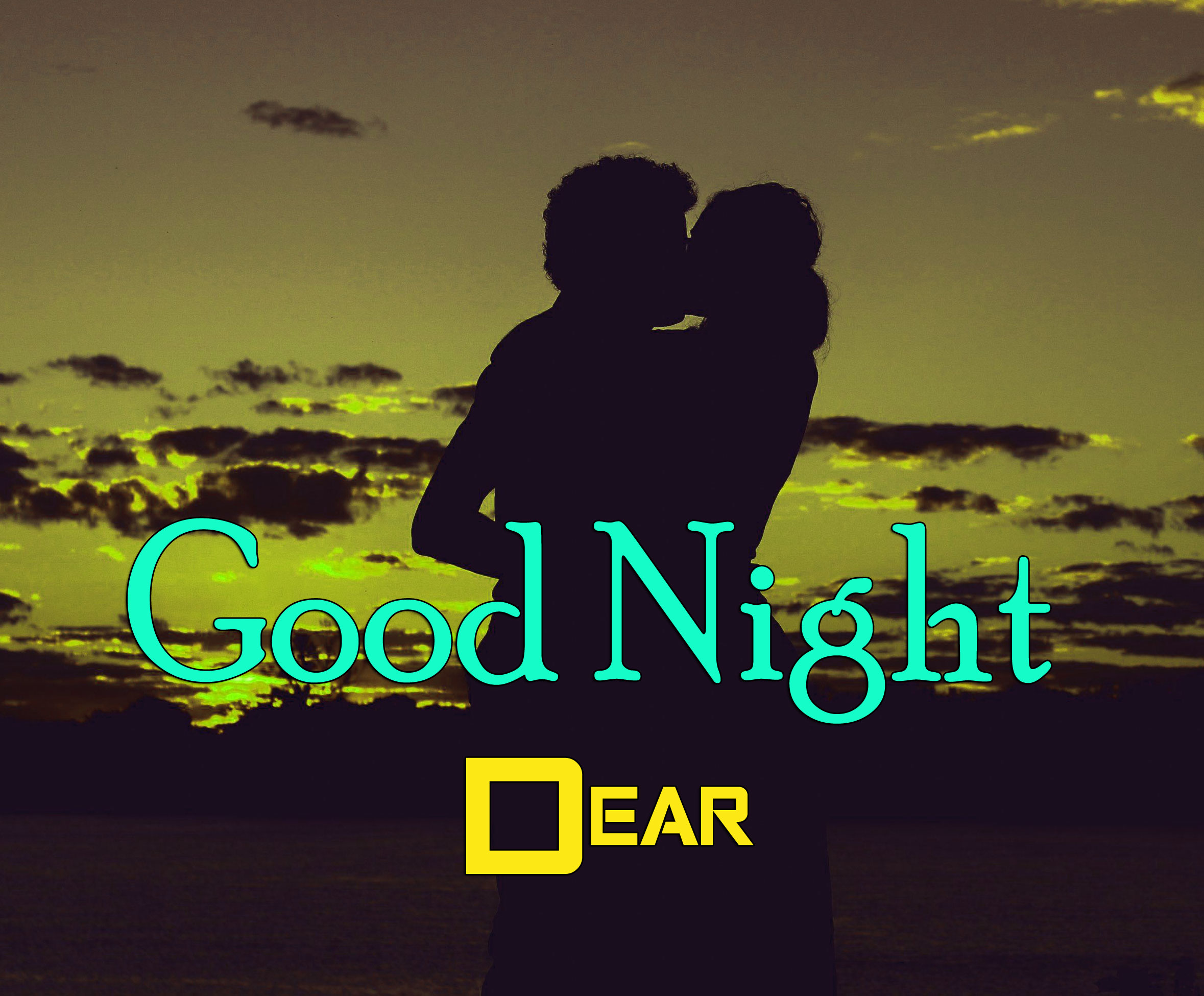 Girlfriend Good Night Wishes Wallpaper Free Download