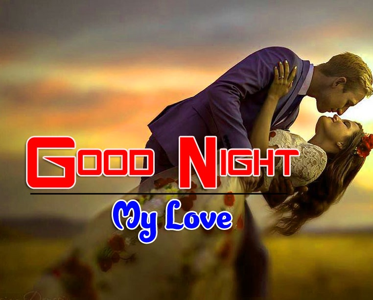 Girlfriend Good Night Wishes Wallpaper HD Download
