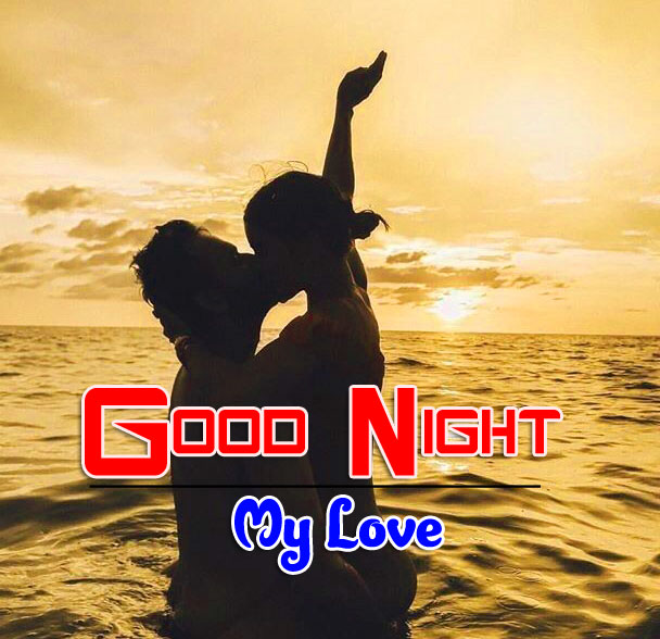 Girlfriend Good Night Wishes Wallpaper New Download