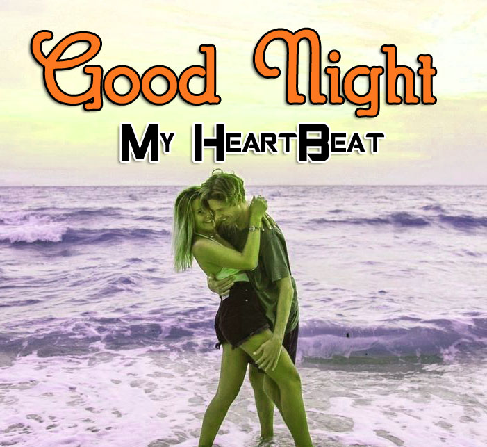Girlfriend Good Night Wishes Wallpaper for Facebook