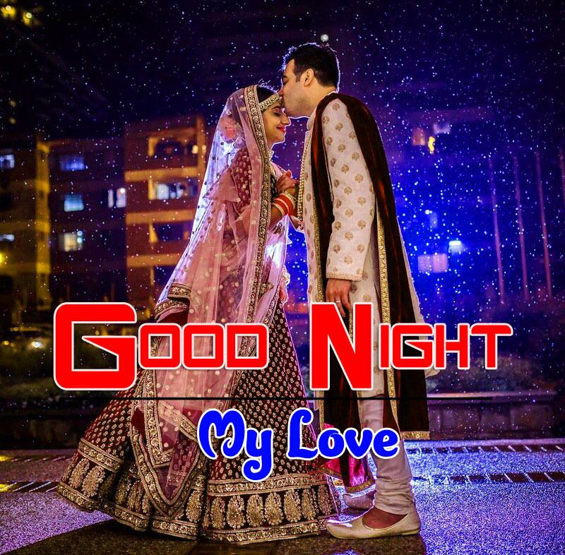 Girlfriend Good Night Wishes Wallpaper for Fcebook