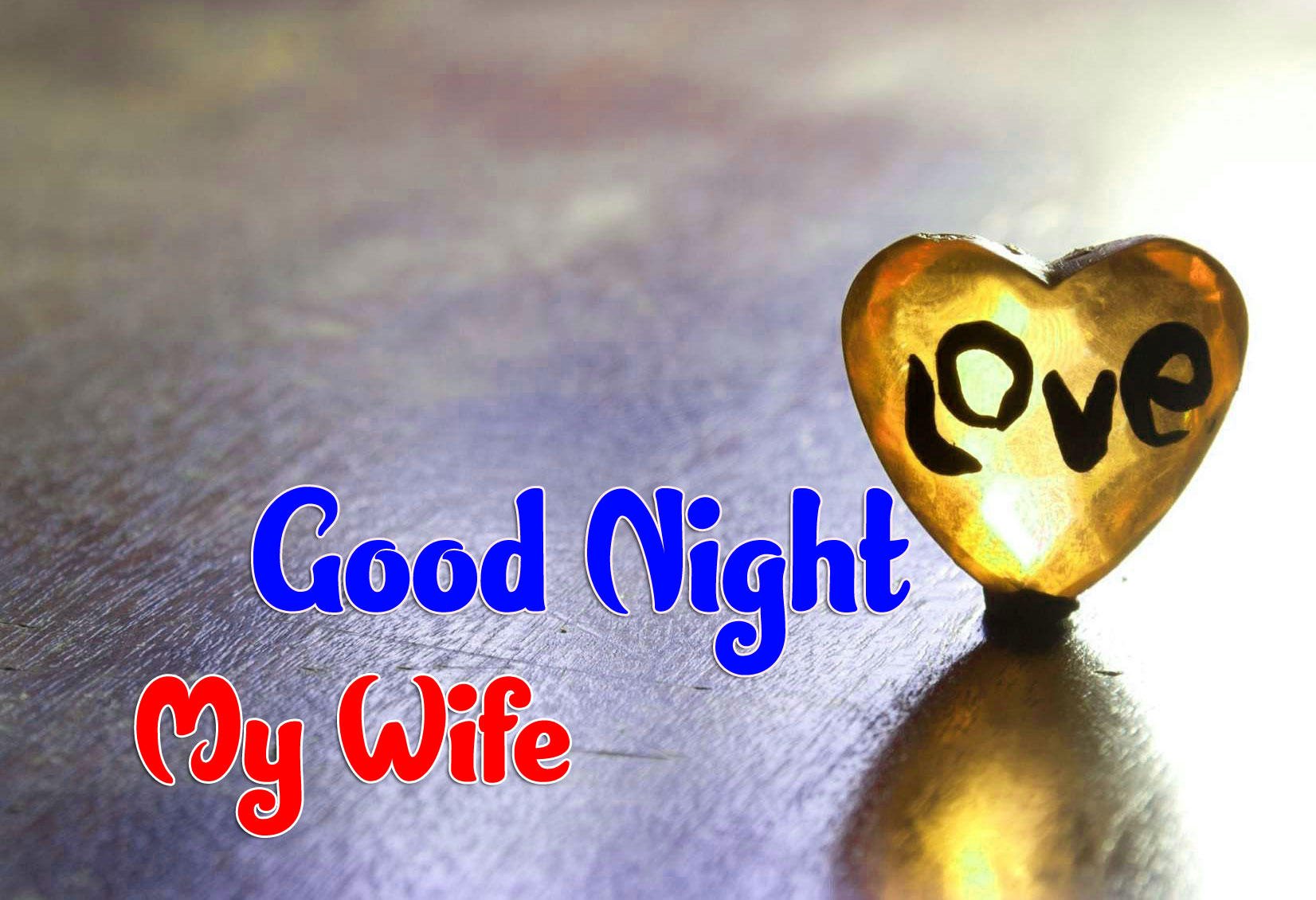 Heart Girlfriend Good Night Wishes Images