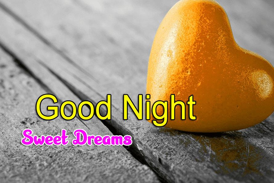 Heart Girlfriend Good Night Wishes Wallpaper Download