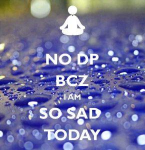 I Am Sad Dp Wallpaper Download