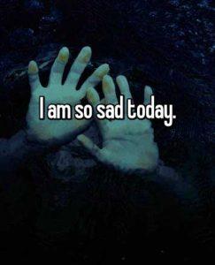 I Am Sad Dp Wallpaper HD
