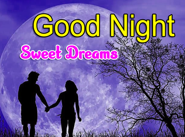 New Love Couple Free Girlfriend Good Night Wishes Wallpaper Download